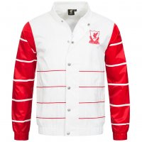 Liverpool FC Majestic Retro Striped College Jacke
