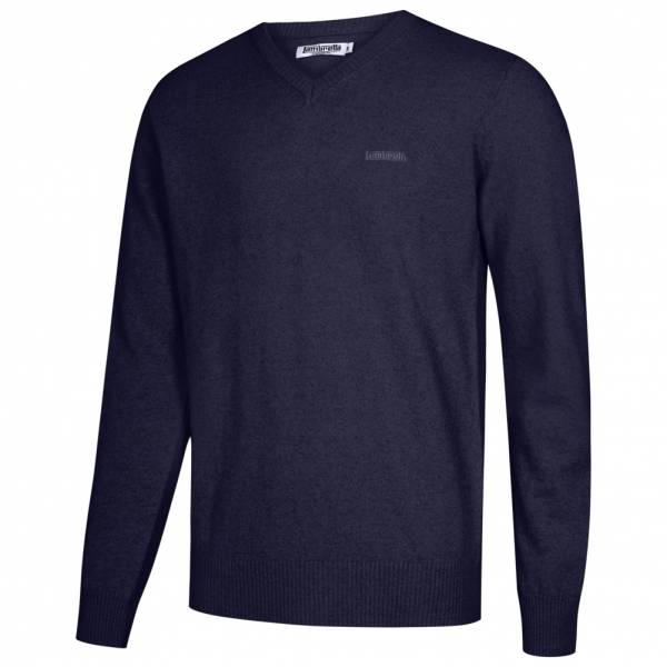 Lambretta Lambswool Sweater Herren Lammwolle Sweatshirt RWIK0045-MIDNIGHT