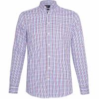 Hackett London Multi Gingham Check Hombre Camisa HM308399-2BQ