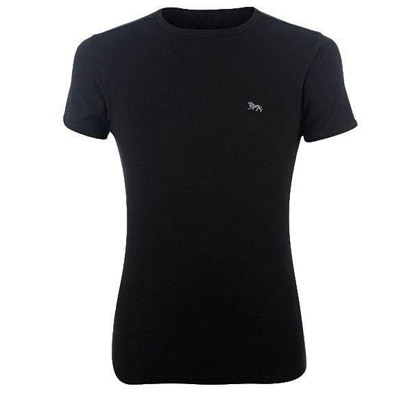 Lonsdale Herren Unterhemd schwarz Kurzarm