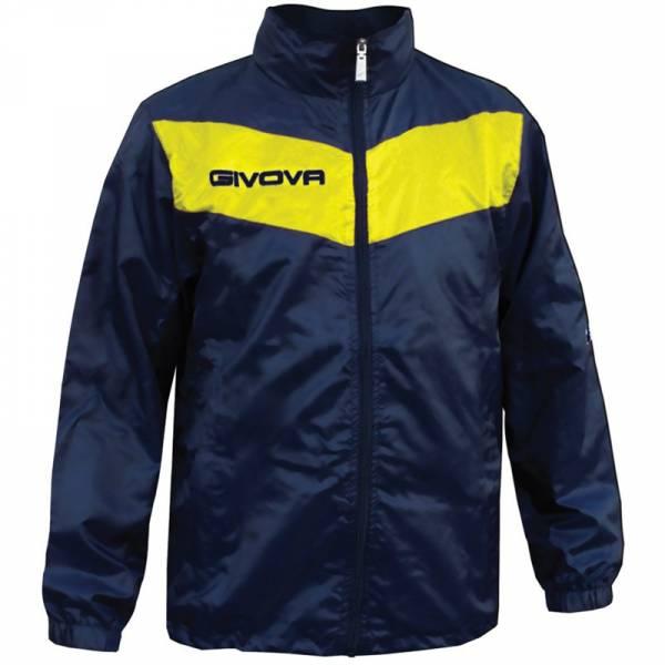 """Givova Rain Jacket """"Rain Scudo"""" navy / yellow"""