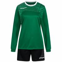 Uhlsport Match Damen Fußball Set Langarm Trikot mit Shorts 100316907