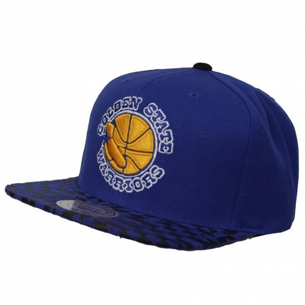 6c345ea36ed1e Mitchell   Ness Golden State Warriors NBA Kaleido Cap MN-HWC-141AZ-GOLWAR  ...