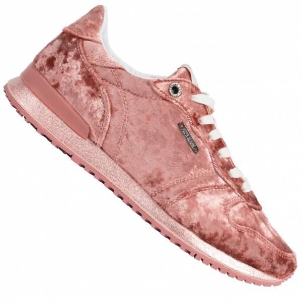 Pepe Jeans Gable Velvet Low Top Damen Sneaker PLS30726-330