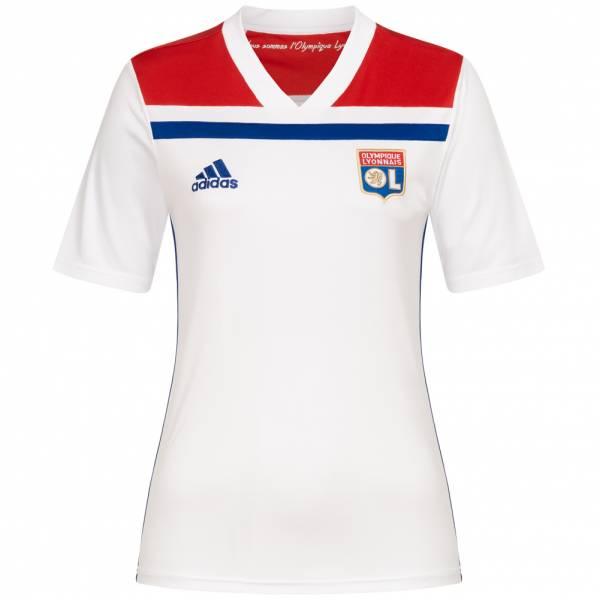 Olympique Lyon adidas Damen Heim Trikot CF9157