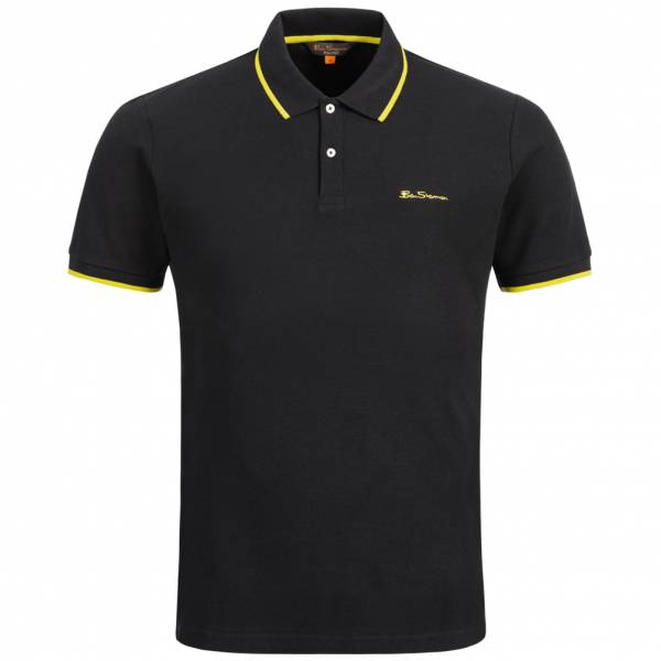 BEN SHERMAN Herren Polo-Shirt 0059992-290 Black