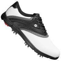 Dunlop Herren Classic Golfschuhe weiß/schwarz