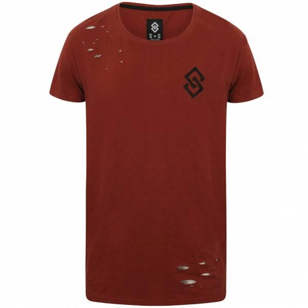 Saint & Sinner St Abran Herren Longline T-Shirt 1C9478
