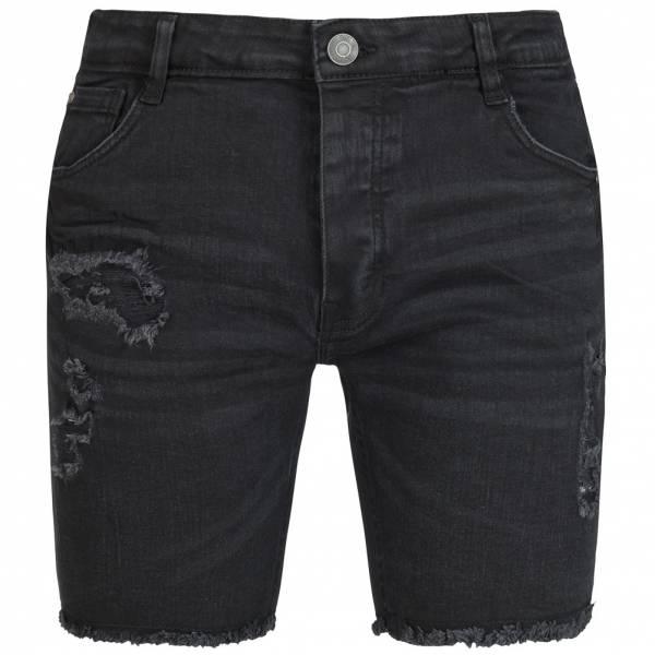 BRAVE SOUL Stonem Denim Herren Jeans Ripped Shorts MSRT-STONEM