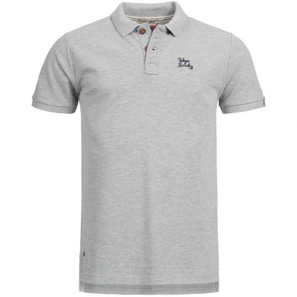 Tokyo Laundry Penn State Herren Polo-Shirt 1X8907AR Light Grey Marl
