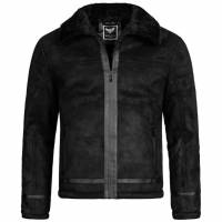 BRAVE SOUL Dallas Men Winter Jacket MJK-DALLAS BLACK