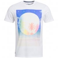 Sth. Shore Diskpalm Herren T-Shirt 1C9188 Optic White