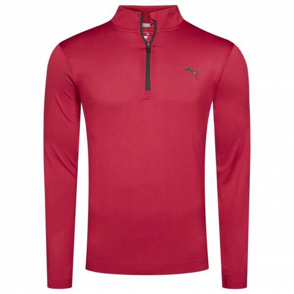 PUMA Golf Essentials Evoknit Herren 1/4-Zip Pullover 576122-04