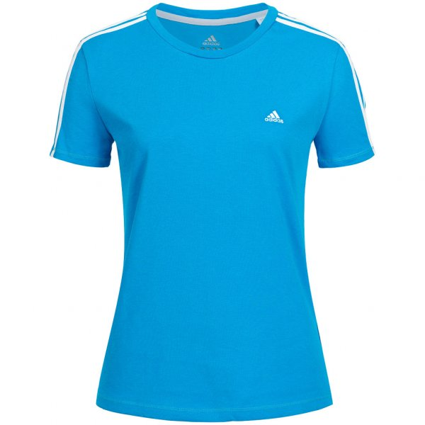 adidas Damen T-Shirt Essentials 3-Stripes Tee F84430
