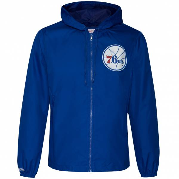 Mitchell & Ness Philadelphia 76ers Hommes Coupe-Vent FLZPMG18045-P76ROYA