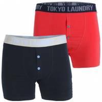 Tokyo Laundry Harecourt 2 Herren 2er Pack Boxershorts 1P10008R