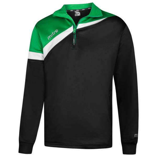 MITRE Polarize 1/4 Zip Herren Trainings Sweatshirt T60011-BEW