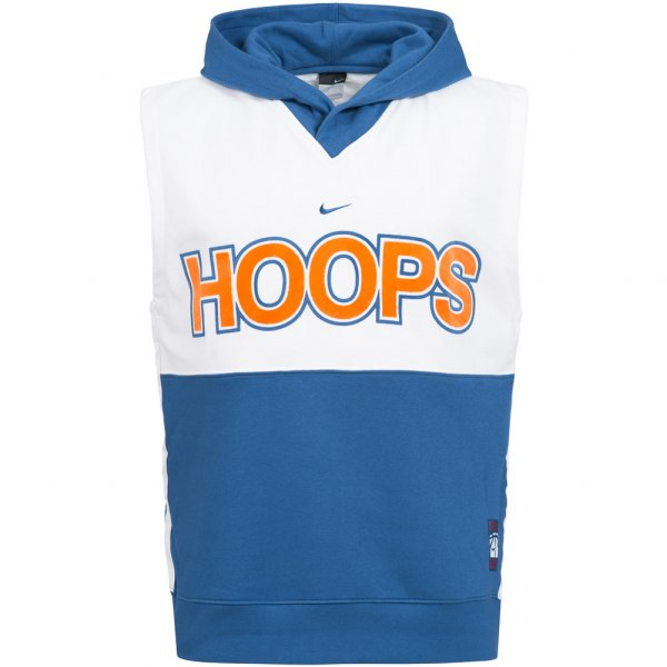 Nike Sleeveless Fleece Hood Basketball Sweatshirt 137685-425