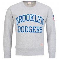 Brooklyn Dodgers Majestic Fahrner Graphic Crew Sweatshirt MLB