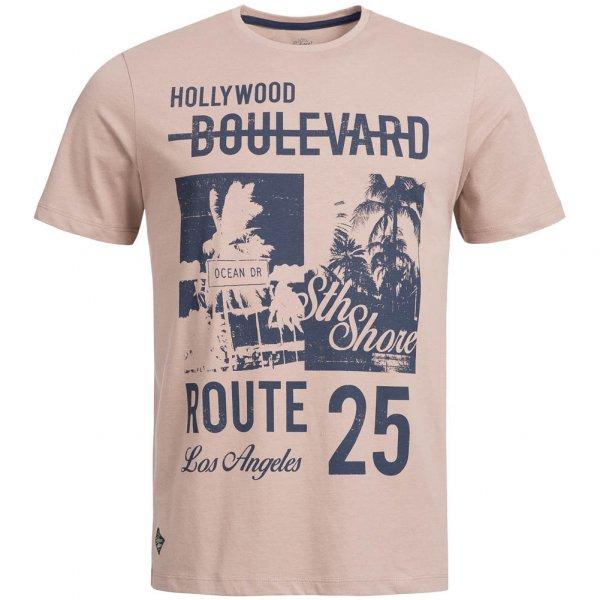 Sth. Shore Paradise City Herren T-Shirt 1C9450 Soft Mink