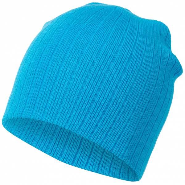 MSTRDS Fisherman Regular Knit Beanie 10057 Turquoise