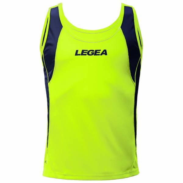 Legea Corfu Hombre Camiseta de tirantes de atletismo M1036-4004