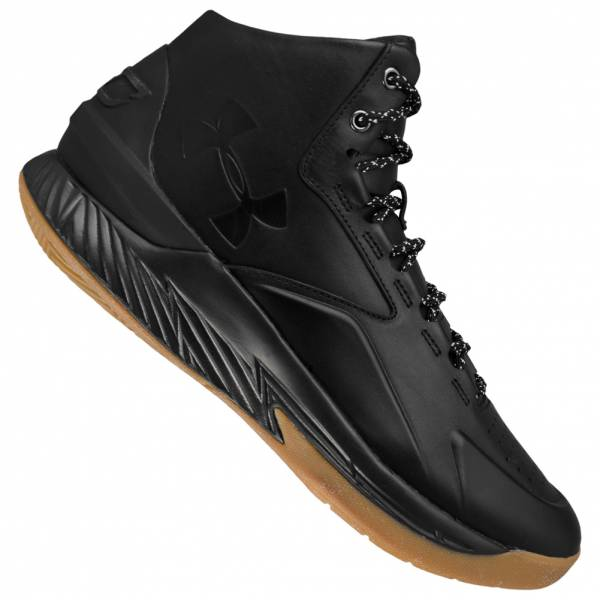 Under Armor Stephen Curry 1 LUX Mid Leather Basketball Shoes 1296616-001