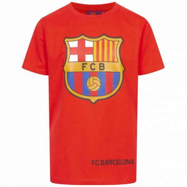 FC Barcelona Classic Kinder T-Shirt Red FCB-3-009