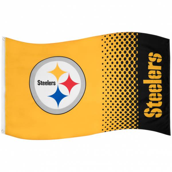 Pittsburgh Steelers NFL Bandiera Fade Flag FLG53NFLFADEPS