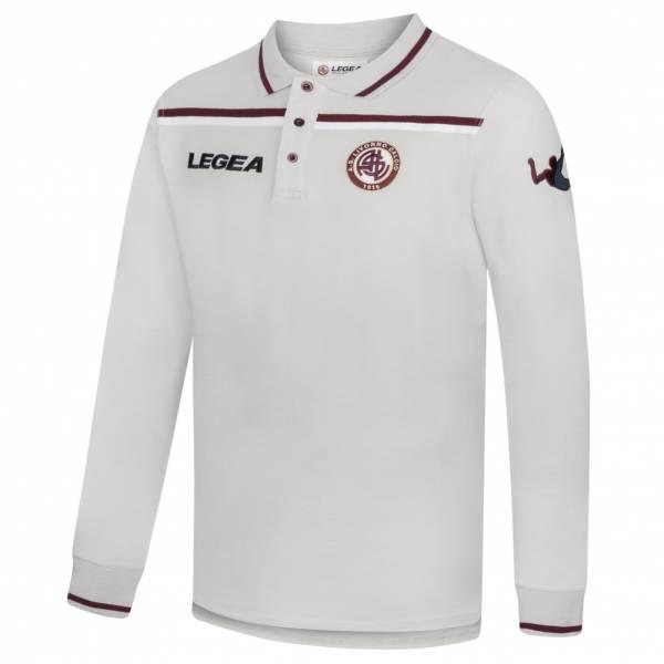 AS Livorno Calcio Legea Men Long-sleeved Polo Shirt gray