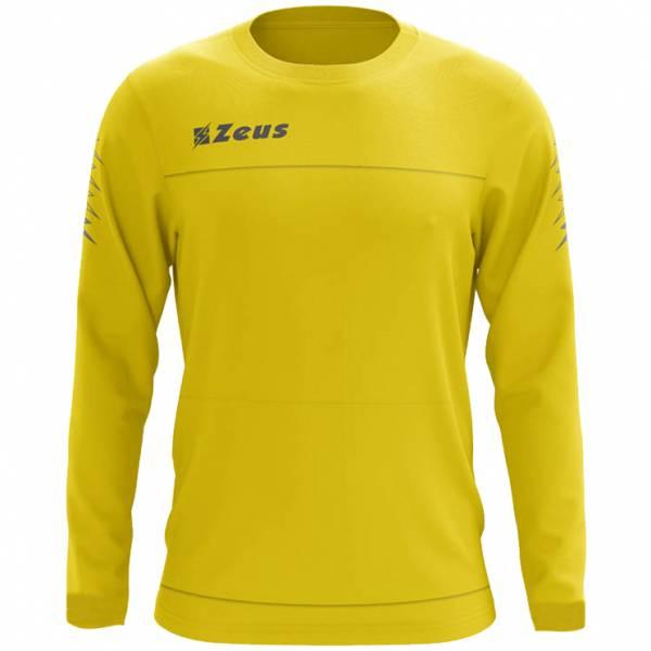 Zeus Enea Sweat-shirt d'entraînement jaune