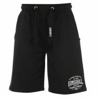 Lonsdale Herren Sweat Shorts 632244 Black