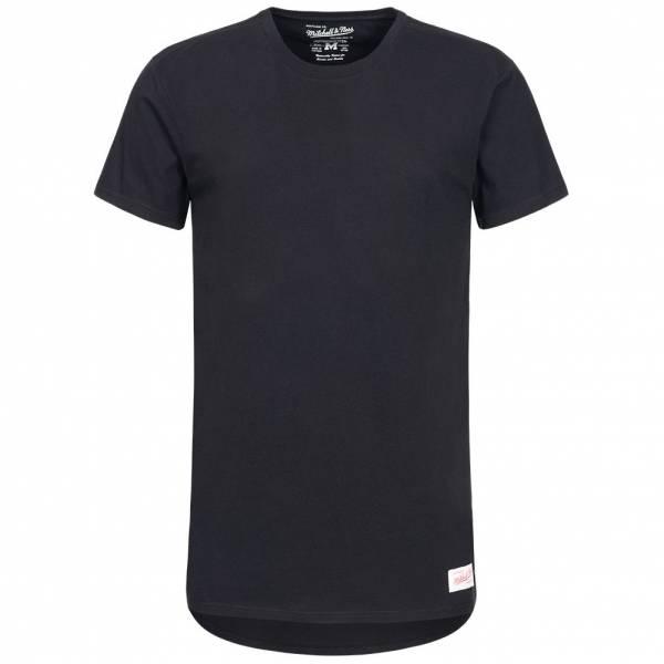 Mitchell & Ness Long Lenght Tailored Herren T-Shirt LONGLENGTHTEE-BLK