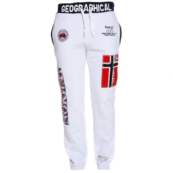 Geographical Norway Herren Jogginghose Myer White