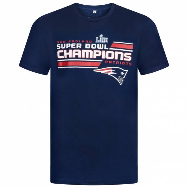 New England Patriots Fanatics NFL Juke Herren T-Shirt 1878MNVYSB15NEP