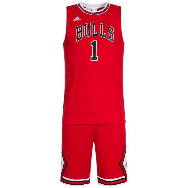 Chicago Bulls adidas Kinder Basketball Trikot Set Mini-Kit NBA AC0552