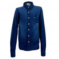 adidas NEO Denim Shirt Jeans Hemd Z67174
