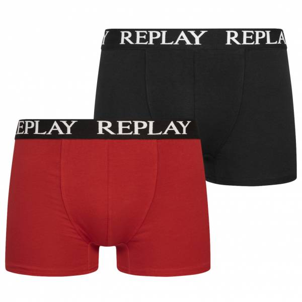 REPLAY Trunk Boxer Herren Boxershorts 2er-Pack 101005-N093