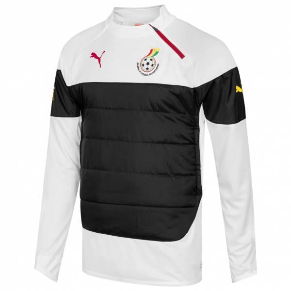 Ghana PUMA Herren gepolstertes Training Sweatshirt 744670-02