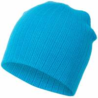 MSTRDS Fisherman Regular Knit Beanie 10057 Turquoise