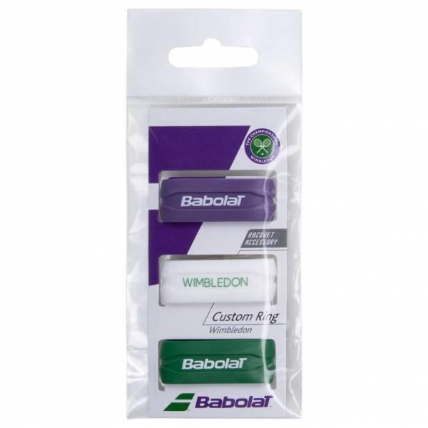 Babolat Custom Ring X3 Wimbledon Tennis Ring 710028134