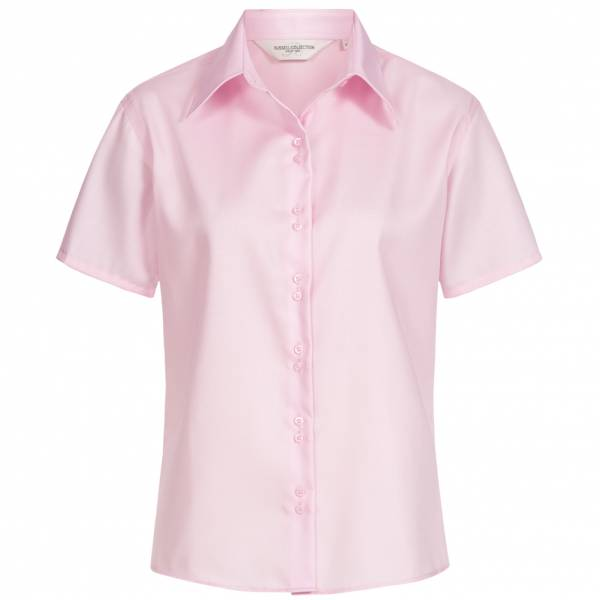 RUSSELL Short Sleeve Ultimate Non-iron Kobiety Koszula 0R957F0-Classic-Pink