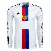 FC Basel adidas Auswärts Langarm Spielertrikot Z11842