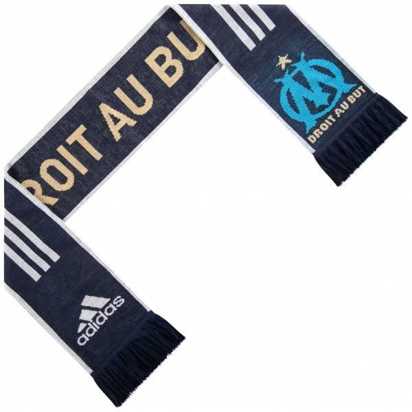 Sciarpa adidas a 3 strisce Olympique Marsiglia B41418