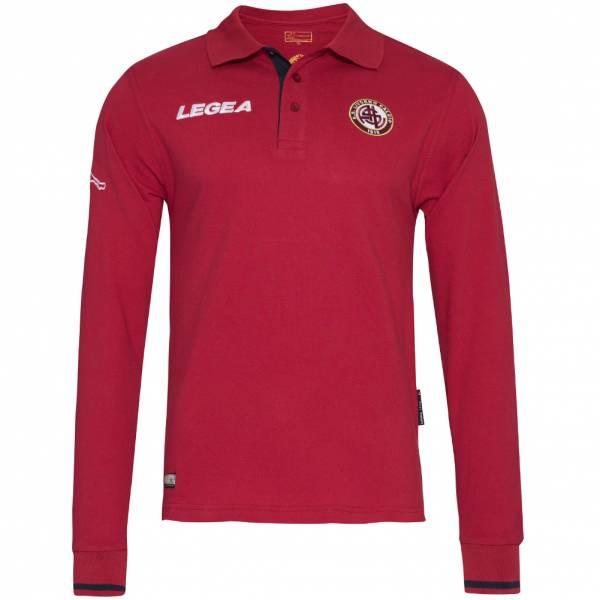 AS Livorno Calcio Legea Herren Langarm Polo-Shirt