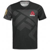 Reebok Ronda Rousey UFC Fight Shirt Herren Walkout Jersey AZ9010