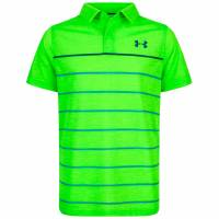 Under Armour Threadborne Bunker Kinder Polo-Shirt 1306050-327
