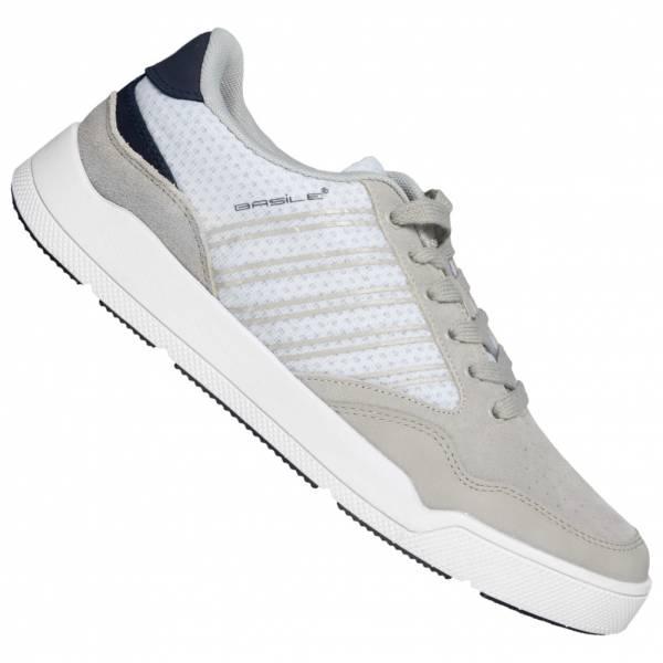 BASILE Blanc Herren Sneaker BAM91770553