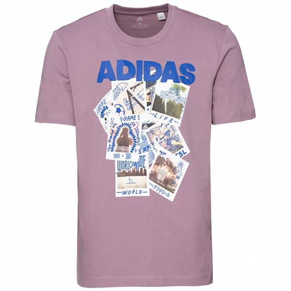 adidas Doodle Photos Herren T-Shirt FN1718