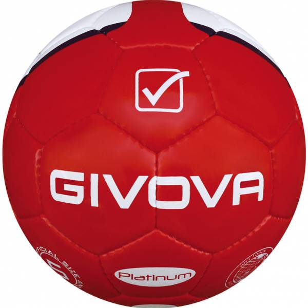 """Givova Fussball """"Platinum"""" rot/navy"""